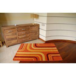 Rubikon szőnyeg 8204 narancs