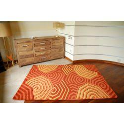 Rubikon szőnyeg 8581 narancs