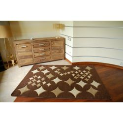 Rubikon szőnyeg 8310 csokoládé