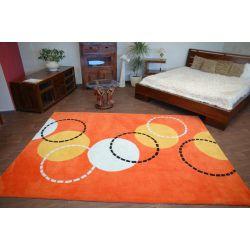 Akryl szőnyeg LABDÁK narancs