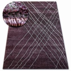 Shadow szőnyeg 9367 lila / lila