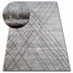 Shadow szőnyeg 9367 szürke / lila